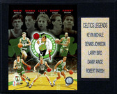 "NBA 12""x15"" Celtics Big 5 Legends Plaque"