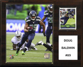 "NFL 12""x15"" Doug Baldwin Seattle Seahawks Player Plaque"