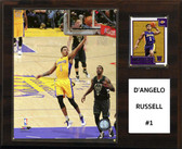 "NBA 12""x15"" D'Angelo Russell Los Angeles Lakers Player Plaque"
