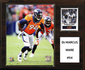 "NFL 12""x15"" Demarcus Ware Denver Broncos Player Plaque"