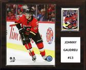 """NHL 12""""x15"""" Johnny Gaudreau Calgary Flames Player Plaque"""