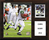 "NFL 12""x15"" Chris Ivory New York Jets Player Plaque"
