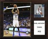 "NBA 12""x15"" Karl-Anthony Towns Minnesota Timberwolves Player Plaque"