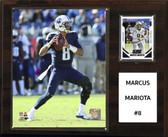 "NFL 12""x15"" Marcus Mariota Tennessee Titans Player Plaque"