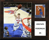 "NBA 12""x15""  Kristaps Porzingis New York Knicks Player Plaque"