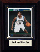 "NBA 4""x6"" Andrew Wiggins Minnesota Timberwolves Player Plaque"