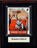 "NBA 4""x6"" Damian Lillard Portland Trailblazers Player Plaque"