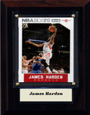 "NBA 4""x6"" James Harden Houston Rockets Player Plaque"