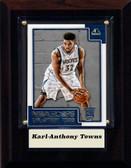 "NBA 4""x6"" Karl-Anthony Towns Minnesota Timberwolves Player Plaque"