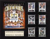 """NFL 16""""x20"""" New England Patriots Super Bowl 50 Champions Plaque"""
