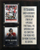 8x10 Payton Manning Denver Broncos Career Stat Plaque