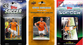MLS Houston Dynamo 3 Different Licensed Trading Card Team Sets