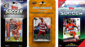 MLS FC Dallas 3 Different Licensed Trading Card Team Sets