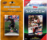 MLS New York Red Bulls 2 Different Licensed Trading Card Team Sets