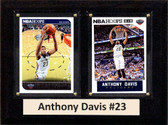 "NBA 6""X8"" Anthony Davis New Orleans Pelicans Two Card Plaque"