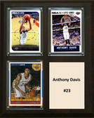 "NBA 8""x10"" Anthony Davis New Orleans Pelicans Three Card Plaque"