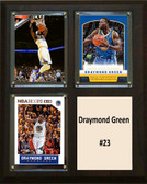 "NBA 8""x10"" Draymond Green Golden State Warriors Three Card Plaque"