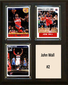 "NBA 8""x10"" John Wall Washington Wizards Three Card Plaque"