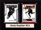 "NHL 6""X8"" Anze Kopitar Los Angeles Kings Two Card Plaque"