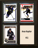 "NHL 8""x10"" Anze Kopitar Los Angeles Kings Three Card Plaque"