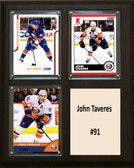 "NHL 8""x10"" John Taveres New York Islanders Three Card Plaque"