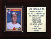 "MLB 6""X8"" Cal Ripken Jr. Baltimore Orioles Player Stat Plaque"