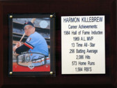 "MLB 6""X8"" Harmon Killebrew Minnesota Twins Career Stat Plaque"