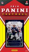 NFL New England Patriots Licensed 2016 Panini Team Set.