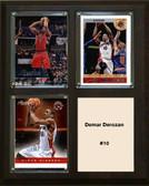 "NBA 8""x10"" Demar Derozan Toronto Raptors Three Card Plaque"