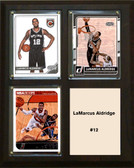 "NBA 8""x10"" LaMarcus Aldridge San Antonio Spurs Three Card Plaque"