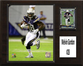 "NFL 12""x15"" Melvin Gordon San Diego Chargers Player Plaque"