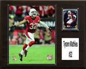 "NFL 12""x15"" Tyrann Mathieu Arizona Cardinals Player Plaque"