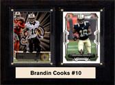 """NFL 6""""X8"""" Brandin Cooks New Orleans Saints Two Card Plaque"""
