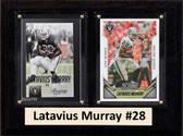 "NFL 6""X8"" Latavius Murray Oakland Raiders Two Card Plaque"