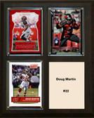 "NFL 8""x10"" Doug Martin Tampa Bay Buccaneers Three Card Plaque"
