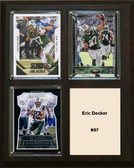 "NFL 8""x10"" Eric Decker New York Jets Three Card Plaque"