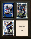 "NFL 8""x10"" Golden Tate Detroit Lions Three Card Plaque"