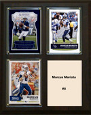 "NFL 8""x10"" Marcus Mariota Tennessee Titans Three Card Plaque"