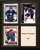 "NHL 8""x10"" Vladimir Tarasenko St.Louis Blues Three Card Plaque"