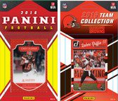 NFL Cleveland Browns Licensed 2016 Panini and Donruss Team Set