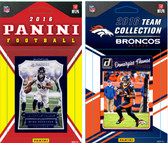 NFL Denver Broncos Licensed 2016 Panini and Donruss Team Set