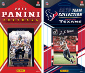 NFL Houston Texans Licensed 2016 Panini and Donruss Team Set