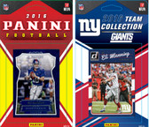 NFL New York Giants Licensed 2016 Panini and Donruss Team Set
