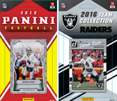 NFL Oakland Raiders Licensed 2016 Panini and Donruss Team Set