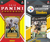 NFL Pittsburgh Steelers Licensed 2016 Panini and Donruss Team Set