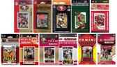 NFL San Francisco 49ers 11 Different Licensed Trading Card Team Sets