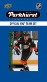 NHL Anaheim Ducks 2016 Parkhurst Team Set
