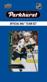 NHL Nashville Predators 2016 Parkhurst Team Set