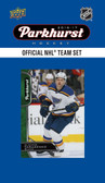 NHL St. Louis Blues 2016 Parkhurst Team Set