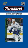 NHL Vancouver Canucks 2016 Parkhurst Team Set
